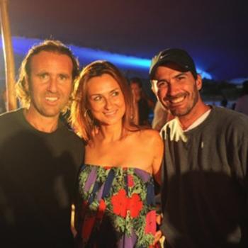 GABRIEL IGLESIAS, EVA MARQUEZ & ADOLFO CAMBIASO