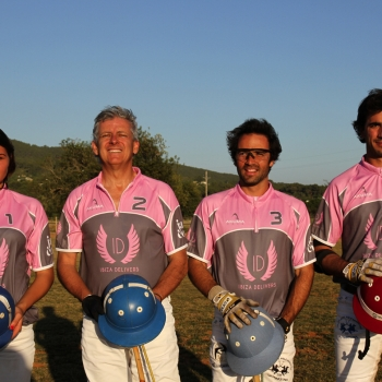IBIZA DELIVERS POLO TEAM